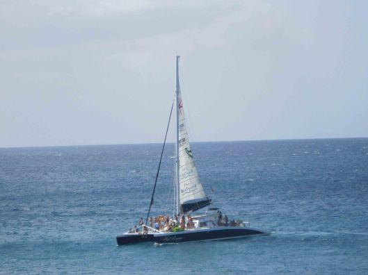 151228-001 BridgetownBarbadosPartyBoat